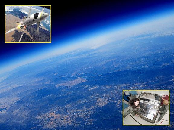 Scientific Citizen Astronauts // Scientific Performance Art