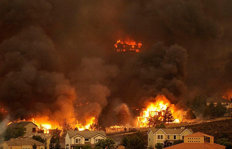 Mountain Wildfires