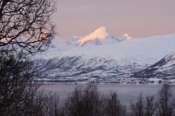 Arctic sunset over Tromso, Norway, Photo courtesy Susan Moran