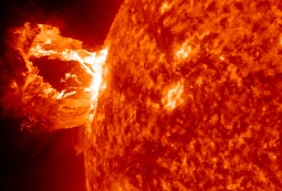 Coronal Mass Ejection (Solar Flare) courtesy NASA