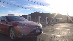 Tesla Superchargers - Rural Arizona