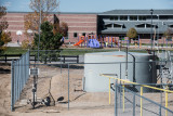 A well site next to Silver Creek elementary school in Thorton, Colo. Photo credit: Ted Wood/The Story Group