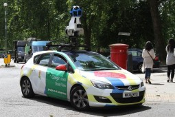 google streetview car