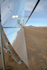 Nevada Solar One plant, Photo credit: Tom McKinnon