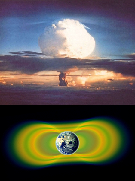 Nuclear Tests and the Van Allen Belts
