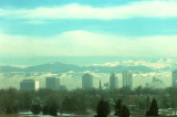 Air pollution over Denver. Photo credit: NCAR