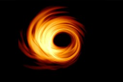 Black Hole Image from New Scientist
