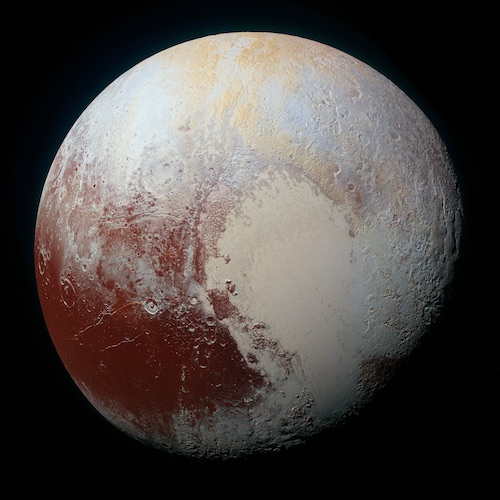 Formation of Pluto and Its Ocean